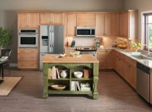 Jeffrey Alexander Tuscan kitchen island
