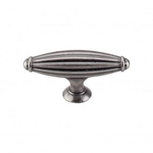 Tuscany Small T-Handle 2 5/8 - Pewter Antique