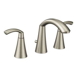 Glyde Two Handle High Arc Bathroom Faucet