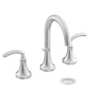 Icon Two Handle High Arc Bathroom Faucet