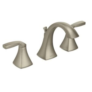Voss Two Handle High Arc Bathroom Faucet